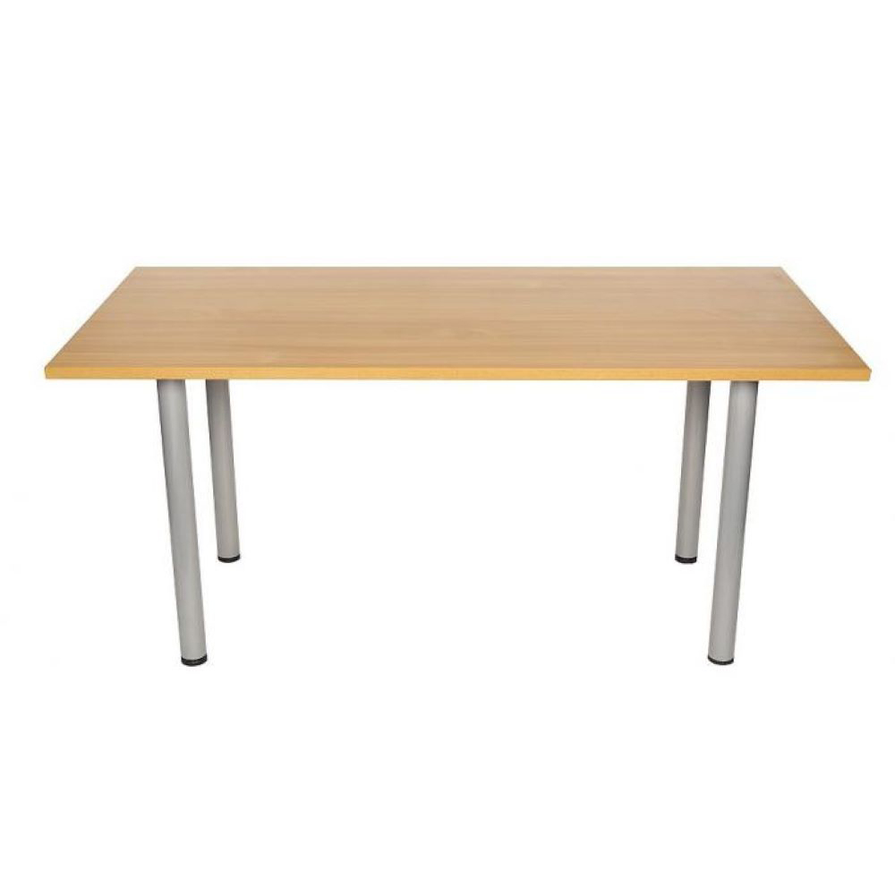 Rectangular Meeting Room Table 1600mm Beech